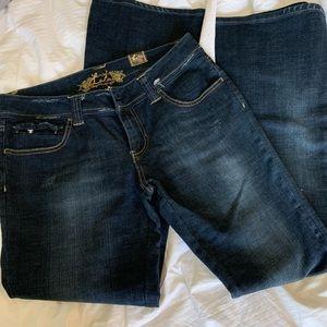 Lola dark blue denim jeans